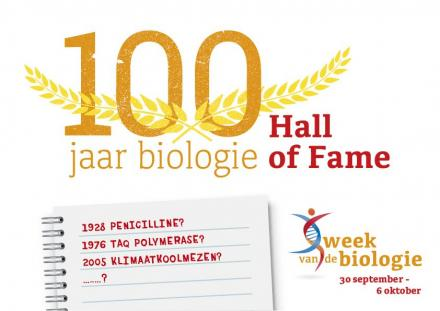Hall of Fame 100 jaar Biologie